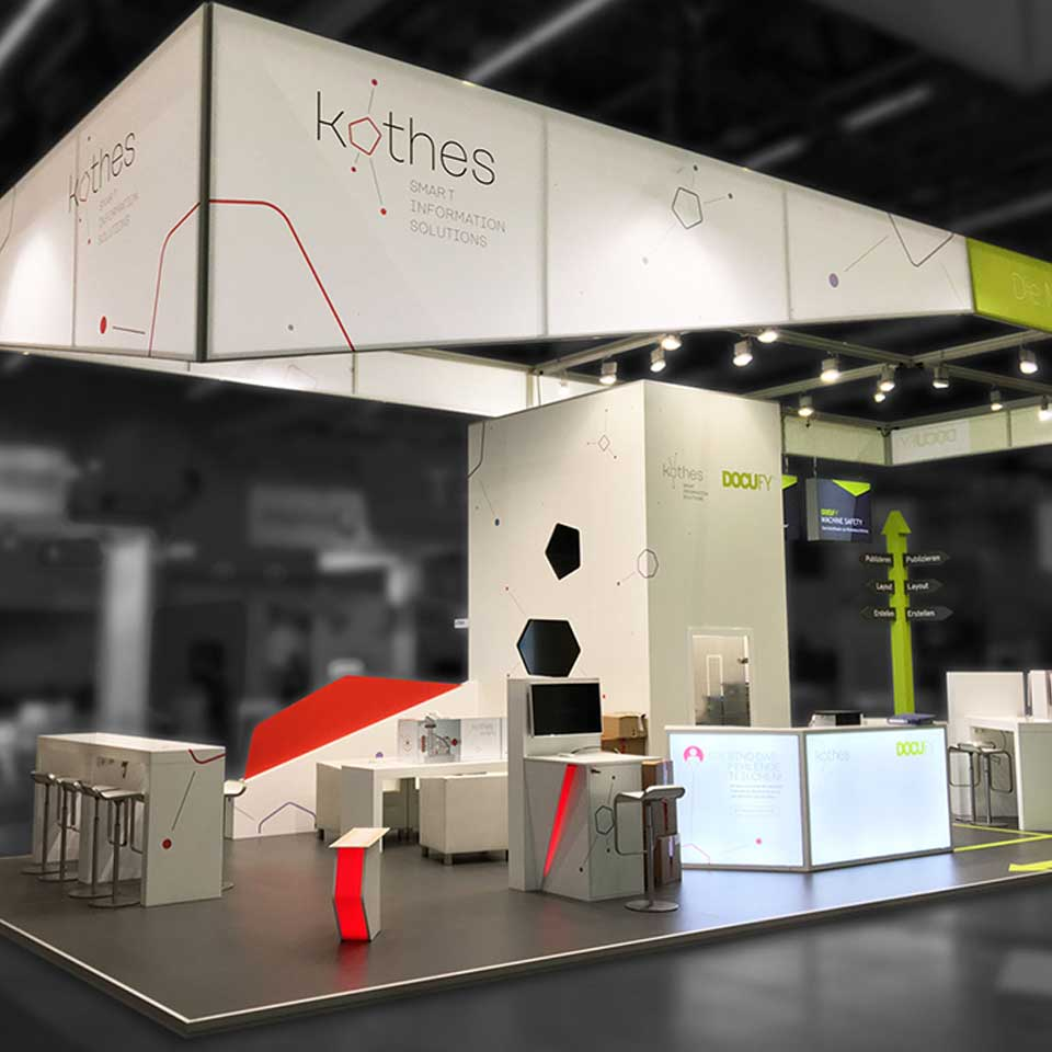 Messestand Kothes
